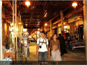 The night souk in Dubai