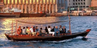 Boat trip in Dubai
