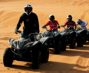 Experience Quad Biking in Dubai Deserts